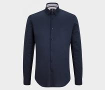 Hemd Timi für Herren - Navy-Blau Hemd