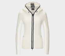 Strickjacke Yasmine für Damen - Off-White Strickjacke