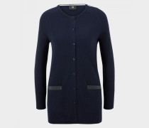 Long-Cardigan Ilena für Damen - Dark Navy-Blue