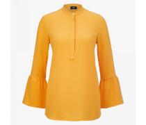 Bluse Ella für Damen - Gelb-Orange