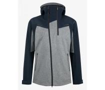 Loden-Mix-Jacke Matt für Herren - Navy blue/Gray Jacke