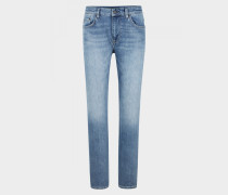 Regular Fit Jeans Rick für Herren - Blue Stone Washed Regular Fit Jeans