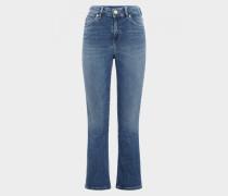 Jeans Julie für Damen - Washed Denim Blue