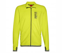 Fleece-Jacke PADIS für Herren - Lime Jacke