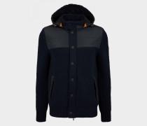 Hybrid-Jacke Flavin für Herren - Navy-Blau Jacke