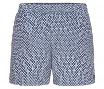 Badeshorts NILO für Herren - Washed Blue/White Badeshorts