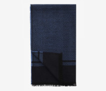 Schal Scarf für Herren - Navy/Gray