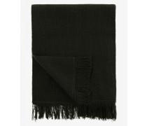 Woll-Schal für Man - Dunkelgrün