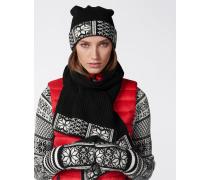 Schal CAMILA für Damen - Black / Off-White