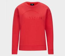Sweatshirt Bruna für Damen - Rot Sweatshirt