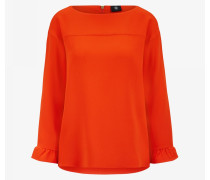 Bluse Mira für Damen - Red-Orange