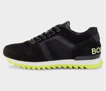 Sneaker Seattle für Herren - Schwarz/Gelb Sneaker