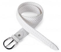 FLECHTGÜRTEL CILIA für Damen - White