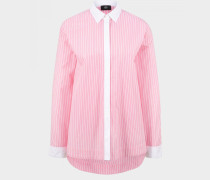 Long-Bluse Mel für Damen - Rosa