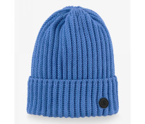 Strickmütze Emira für Damen - Azure blue