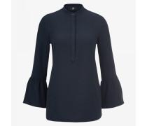 Bluse Ella für Damen - Navy-Blau