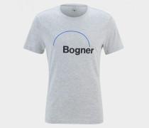 T-Shirt Roc für Herren - Hellgrau meliert T-Shirt