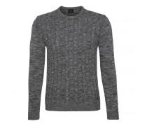 Strick-Pullover HOWARD für Herren - Gray Mélange Pullover