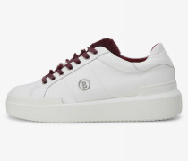 Sneaker Hollywood für Damen - White/burgundy