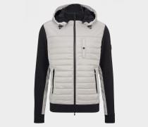 Hybrid-Jacke Clay für Herren - Hellgrau/Schwarz Jacke