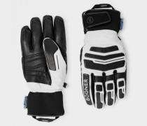 Handschuhe Agimo für Herren - Off-White/Schwarz