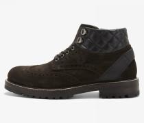 Kalbsleder Sneaker New Lech für Man - Dunkelbraun