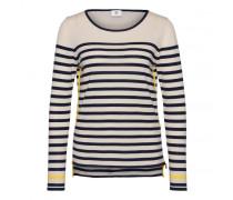 Schurwoll-Pullover ADORA für Damen - Sesame/Multicolor Pullover