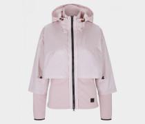 Hybrid-Jacke Fran für Damen - Rosa Jacke