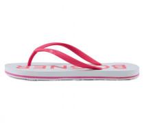 Zehentrenner Palm Beach - Pink/Weiß