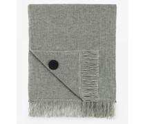 Woll-Schal für Man - Husky-Grau
