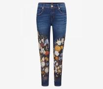 Jeans Florinda für Damen - Vintage washed blue denim