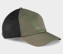 Cap Duck für Herren - Olivgrün/Schwarz Cap