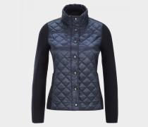 Hybrid-Jacke Isabell für Damen - Schwarz-Blau Jacke
