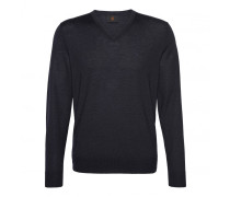Schurwoll-Pullover BENE für Herren - Navy Pullover