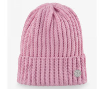 Strickmütze Emira für Damen - Flamingo pink