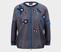 Strickjacke Liana für Damen - Navy-Blau Strickjacke