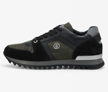 Sneaker Seattle für Man - Schwarz/Oliv