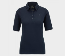 Polo-Shirt Tammy für Damen - Navy-Blau Polo-Shirt