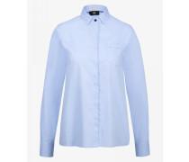 Hemd-Bluse Amara für Damen - Hellblau