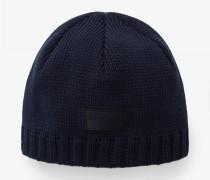 Strickmütze Freddy für Herren - Navy blue