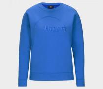 Sweatshirt Bruna für Damen - Azurblau Sweatshirt