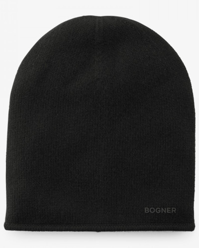Kaschmir-Strickmütze Marin für Damen - Black