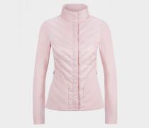 Taillierte Hybrid-Jacke Frida für Damen - Hellrosa Jacke