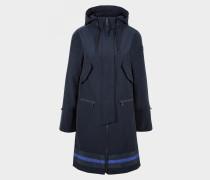 Kurzmantel Karlie für Damen - Dark Navy-Blau