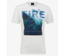 T-Shirt Piz für Man - Weiß T-Shirt