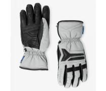 Handschuhe Haimo für Herren - Hellgrau/Schwarz