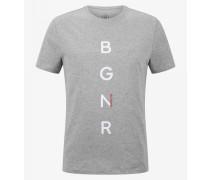 T-Shirt Roc für Man - Grau meliert T-Shirt