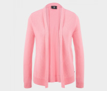 Strickjacke Inka für Damen - Flamingorosa Strickjacke