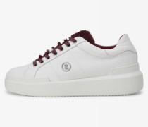 Sneaker Hollywood für Woman - Weiß/Bordeauxrot