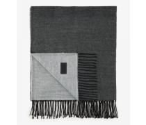 Schal Scarf für Herren - Light gray/dark gray